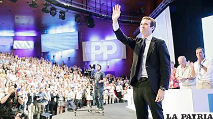 Pablo Casado, nuevo presidente del Partido Popular español /TELEMETRO.COM