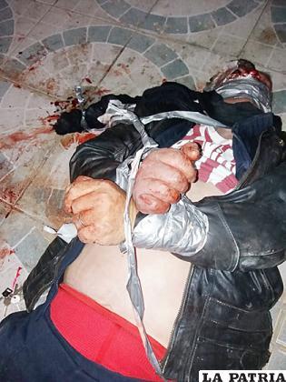 El ciudadano de 64 años, a quien se presume lo victimaron a golpes