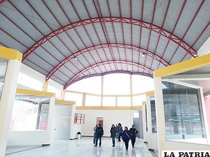 Construcción de la Terminal de Huanuni se financió con el programa