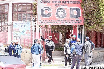 130 trabajadores y dirigentes de la COD culminaron el ciclo de formación /ARCHIVO