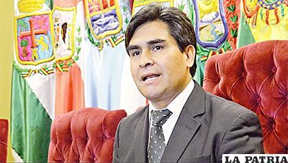 El expresidente del TSE, Wilfredo Ovando. /ANF