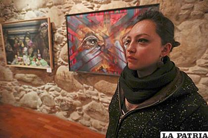 La artista boliviana Sofía Monroy /EFE