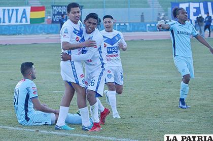 El lance de ida por el tercer puesto del Apertura jugado en Oruro 31/5/2018 los