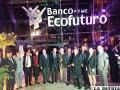 Ejecutivos del banco Ecofuturo