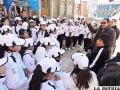 Delegaciones escolares disfrutaron de Oruro turístico