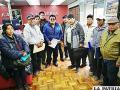 Periurbanos exigen la renuncia de alcaldesa Sejas