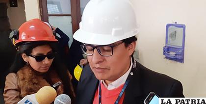 Director plantea mejorar la bioseguridad de hospitales General y Oruro-Corea /LA PATRIA