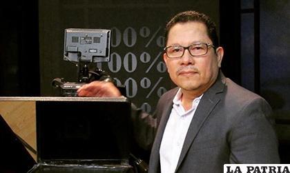 Miguel Mora, dueño del canal 100 % Noticias en Nicaragua /El Nuevo Diario