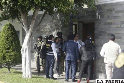 La Fiscalía peruana allanó este martes la vivienda de Nadine Heredia, esposa del expresidente peruano Ollanta Humala /El Universo
