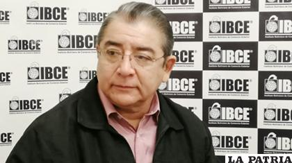 El gerente del Instituto de Comercio Exterior, Gary Rodríguez, (IBCE) /ANF