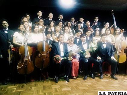 Recital de gala por parte de la Orquesta filarmónica de Oruro /LA PATRIA