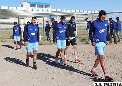 Luego de la reunión con el cuerpo técnico los jugadores se retiraron /LA PATRIA/Carla Herrera