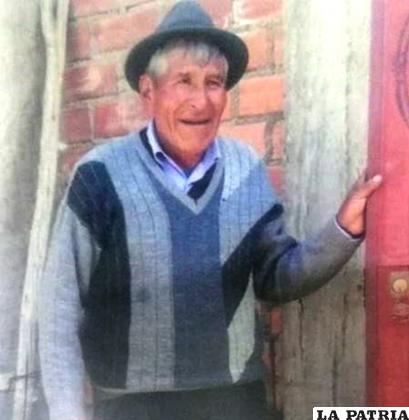 Juvenal Quena Medrano es buscado por su familia /LA PATRIA