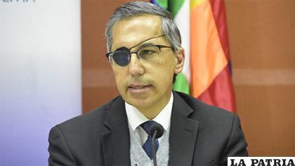Alfonso Tenorio, representante de la OPS/OMS /Ministerio de Salud