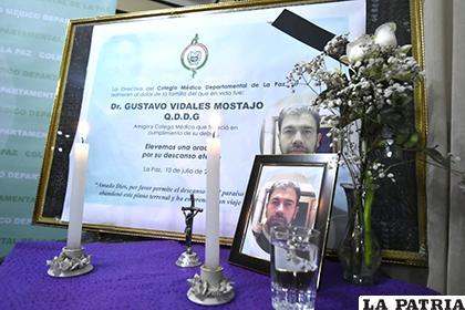 Gustavo Vidales, murió la madrugada de este miércoles, tras contraer el arenavirus /APG