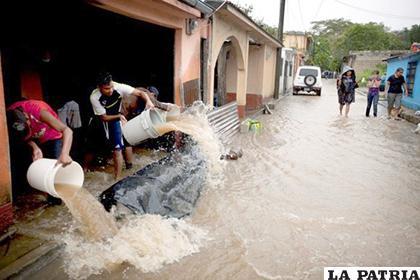 Guatemala es uno de los países más vulnerables a los efectos del cambio climático y cada año miles de personas resultan afectadas /CNVe24