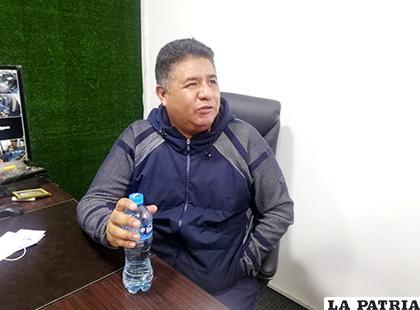 Wilson Martínez presidente del club San José /Alex Zambrana/LA PATRIA