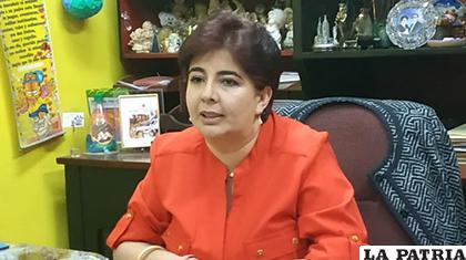 La candidata vicepresidencial por el PDC, Paola Barriga /ABYA YALA