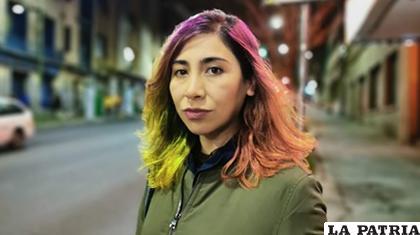 Sayuri Loza descartó ser candidata por el MAS /FACEBOOK