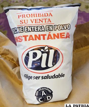 La empresa PIL será quien dote el alimento lácteo /GAMO