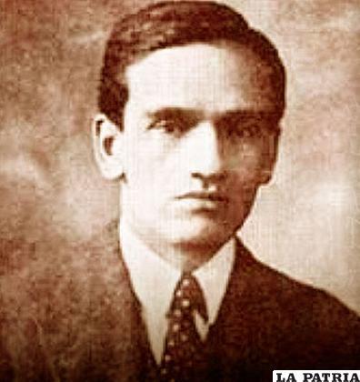 César Vallejo en 1922