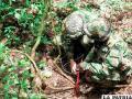 Militares fueron emboscados por disidentes de las FARC, 5 fallecieron en el enfrentamiento /ELUNIVERSAL.COM.BO