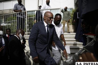El nuevo primer ministro de Haití, Ariel Henry /AP Foto/Joseph Odelyn