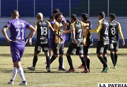 """Los """"atigrados"""" pretenden seguir en la punta del torneo de la División Profesional /APG"""