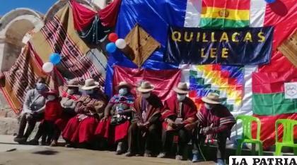 """""""Quillacas Lee"""" una iniciativa fomentada por los residentes y habitantes de la región /AMDEOR"""