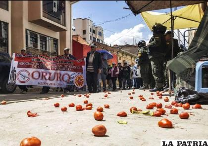 Los orureños volverán a las calles en busca de sus reivindicaciones como región /LA PATRIA ARCHIVO