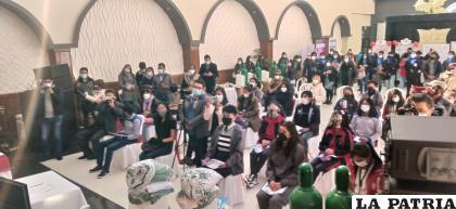 Los estudiantes de 7 escuelas buscan frenar la violencia en las aulas /LA PATRIA