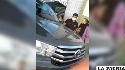 """Aparentemente fue aprehendido por policías cuando salía de """"Palmasola""""  /Internet"""