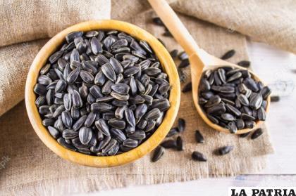 Las semillas son ricas en vitamina E /IBARU