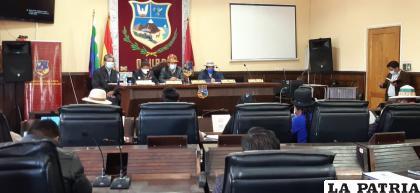 Asambleístas dieron su opinión respecto al anuncio del Comité Cívico /LA PATRIA