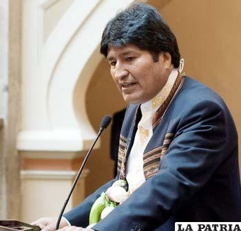 El Presidente Morales, ya no tiene la misma aprobación ciudadana