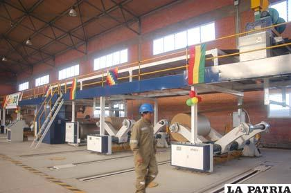 Cartonbol, una empresa que funciona en Oruro, pero se administra desde La Paz