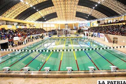Los juegos bolivarianos dieron una nueva orientaci n al for Piscina olimpica madrid