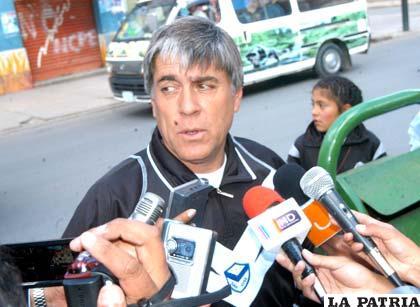 Marcelo Javier Zuleta, D.T. de San José