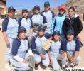 Equipo femenino de Lobos que interviene en el torneo
