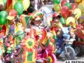 Niños del Happy Kids rindieron un particular homenaje a la bolivianidad