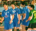 San Martín sometió a Gutper en el reinicio del campeonato de voleibol