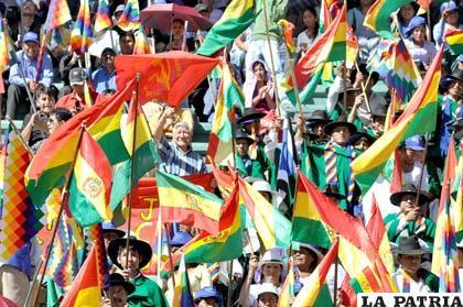 Celebración del día de la Revolución Agraria y Productiva (Foto APG)
