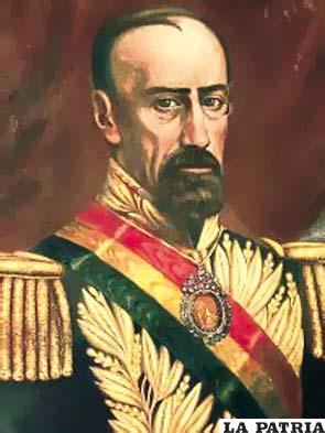 14. JOSÉ MARÍA ACHÁ VALIENTE Nació el 8 de julio de 1810 en Cochabamba y murió, el 29 de diciembre de 1864, en la misma ciudad, al ser derrocado por Mariano Melgarejo quién lo persiguió hasta su muerte. Ocupó el cargo tras un golpe de Estado producido el 4 de mayo de 1861 y permaneció hasta el 28 de diciembre de 1864 junto a Ruperto Fernández y Manuel Antonio Sánchez. Durante su Gobierno se dictó la Ley de Imprenta e implantó el servicio de correo con el uso de estampillas; fundó la población de Rurrenabaque; en su gobierno dispuso el sistema monetario del boliviano de 100 centavos; en 1861 dictó que los diezmos fueran sustituidos por un impuesto territorial; la falta de recursos económicos le impidieron desarrollar una labor más fructífera por el país.
