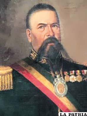 16. AGUSTÍN MORALES HERNÁNDEZ Nació en La Paz en 1808 y murió asesinado en la misma ciudad el 27 de noviembre de 1872. Asumió el cargo de Presidente por un golpe de Estado, el 15 de enero de 1871 hasta el 27 de noviembre de 1872 tras ser asignado al Ejército, como militar en ejercicio. Lo primero que hizo fue anular todos los actos administrativos de Melgarejo decretó la devolución de las tierras comunitarias a los indígenas, habilitó los puertos de Tocopilla y Antofagasta, el peso Melgarejo fue sustituido por el peso boliviano, se fundaron escuelas para adultos, especialmente para los trabajadores; declaró la libertad de enseñanza, posteriormente dio lugar a la proliferación de colegios y escuelas a cargo de instituciones religiosas.