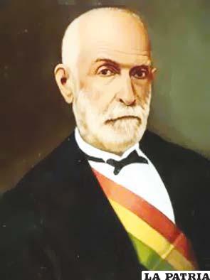 17. TOMÁS FRÍAS AMETLLER  Nació en Potosí el 21 de diciembre de 1804 y murió en Florencia, Italia, en 1884. Estuvo en el poder por dos gestiones, primero por sucesión al ser presidente del Consejo de Estado del 28 de noviembre de 1872 al 9 de mayo de 1873; el segundo periodo inició el 31 de enero de 1874 al 4 de mayo de 1876.  Su gobierno se caracterizó por haber sido el más probo y honrado, siendo un ejemplo de austeridad y legalismo. El nuevo gobierno se consagró en mantener el orden público y convocar a las elecciones de 1873 que a la postre fueron las más transparentes del siglo XIX; se creó a Escuela Militar para enseñar el manejo de armas de precisión, se fundaron escuelas primarias en los cuarteles para la instrucción de los soldados.