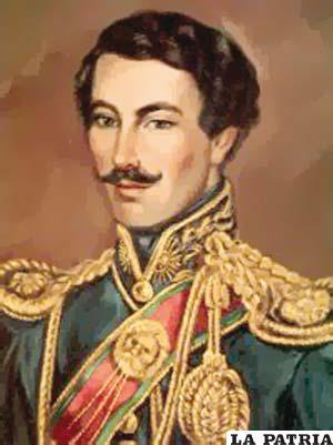 3. JOSÉ MARÍA PÉREZ DE URDININEA Nació en la población de Luribay, ubicada en La Paz, el 31 de octubre de 1784 y murió en La Paz el 4 de noviembre de 1865. Fue nombrado interinamente como presidente por el Consejo de Ministros el 18 de abril de 1828, cargo que ocupó hasta el 2 de agosto de 1828.  En el poco tiempo de su mandato no se ejecutaron obras, aunque tuvo que enfrentar la invasión de las tropas peruanas al mando del general Agustín Gamarra con poca fortuna, pues la defección del entonces coronel Pedro Blanco le privó de un tercio de las fuerzas nacionales y no presentó combate, motivo por el que el invasor le impuso firmar el tratado de Piquiza mediante el cual el Perú imponía condiciones a Bolivia.