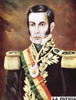 4. JOSÉ MIGUEL DE VELASCO FRANCO  Nació en Santa Cruz el 29 de septiembre de 1795 y murió en la misma ciudad el 13 de octubre de 1859. Asumió el cargo como Primer Mandatario en cuatro gestiones: la primera del 2 de agosto 1828 al 18 de diciembre de 1828; la segunda del 1 de enero de 1829 al 24 de mayo de 1829; la tercera del 22 de febrero de 1839 al 10 de junio de 1841 y la cuarta del 18 de enero al 6 de diciembre de 1848.  Se presume que fue el que más veces ocupó la Presidencia con carácter provisorio; durante su periodo cometió el error de felicitar al general chileno Bulnes por la victoria de Yungay sobre las fuerzas de la Confederación Perú-Boliviana.