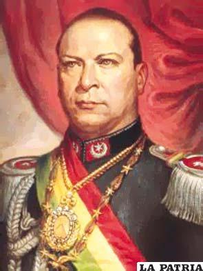 39. GUALBERTO VILLARROEL LÓPEZ  Nació en Villa Rivero, Cochabamba, el 15 de diciembre de 1908 y fue asesinado y colgado por una turba el 21 de julio de 1946 en La Paz. En su gobierno se creó la Federación de Mineros, liderada por Juan Lechín, instancia que luego se consolidó con la organización de la Federación Sindical de Trabajadores Mineros de Bolivia; fue reconocido el fuero sindical a favor de los trabajadores; Carlos Montenegro, ideólogo del MNR, fue exiliado a la Argentina. En un congreso de indígenas en La Paz, el 13 de mayo de 1945 se abolió el pongueaje o servidumbre coercitiva y gratuita del colono y la mita o trabajo forzado y logró la intervención del Estado en las exportaciones mineras.