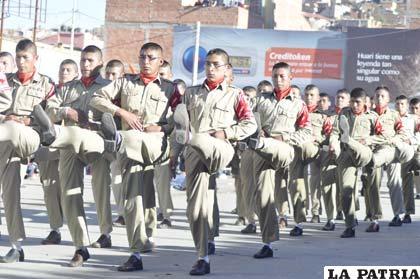 Colegio Arce Desfile 2012 Matutino La Patria