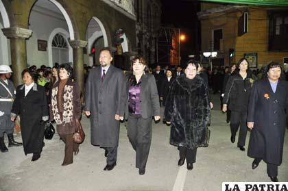 El Ministerio Público rindió homenaje a Bolivia